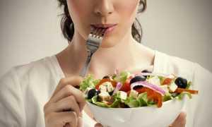 График диеты для похудения