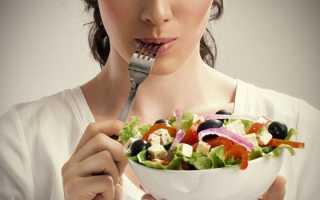 Диета с расписанием питания по дням