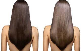 Процедура для блеска волос в салоне