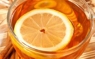 Чай с лимоном ккал