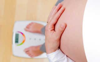 Сколько весят воды у беременных
