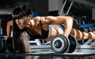 Комплекс упражнений в спортзале для девушек