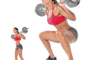 Круговая тренировка в тренажерном зале для девушек