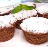 Шоколадный кекс в микроволновке рецепт