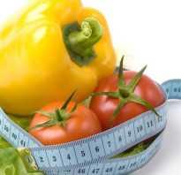 Таблица баллов для похудения