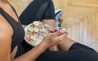 Правильное питание после тренировки в тренажерном зале