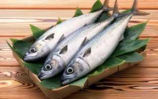Калорийность рыбы таблица на 100 грамм