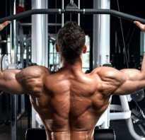 Упражнение для спины в тренажерном зале