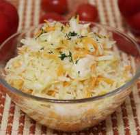 Калорийность салат витаминный