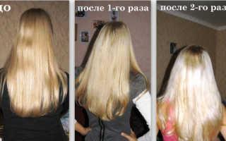 Осветление волос кефиром отзывы
