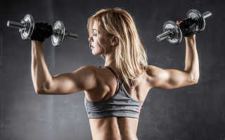 Комплекс упражнений с гантелями для девушек