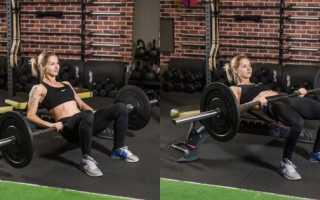 Упражнения для ягодиц до и после фото
