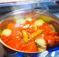 Овощное рагу для диеты 5