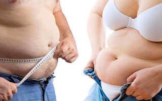 Висцеральный тип ожирения у женщин