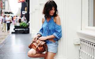 Одежда из джинсовой ткани