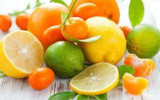 Какие продукты содержат витамин ц
