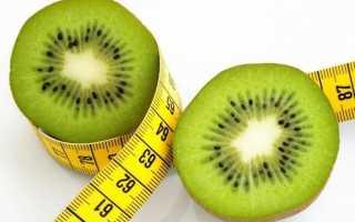 Киви при диете для похудения