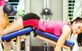 Полуперепончатая мышца упражнения