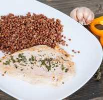Диета на гречке и куриной грудки