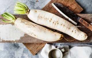 Блюда из дайкона рецепты на зиму