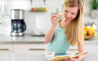 Рацион питания подростка 14 лет таблица
