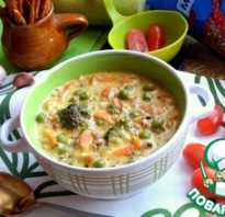 Суп с брокколи рецепт