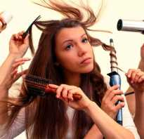 Как создать объем у корней волос