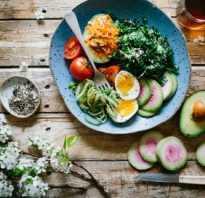 Правильные продукты для здорового образа жизни