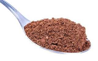 Чайная ложка какао сколько грамм