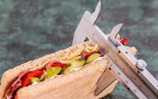 Жесткая диета для быстрого похудения на 10