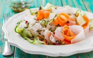 Дайкон рецепты приготовления салатов с фото