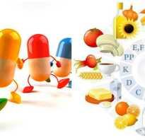 Продукты содержащие витамины в