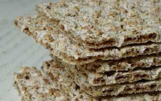 Можно ли есть ржаные хлебцы на диете
