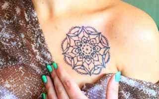 Есть ли временные татуировки