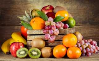 Фрукты калорийность таблица