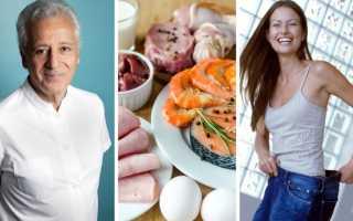 Белковые продукты для похудения список таблица дюкан
