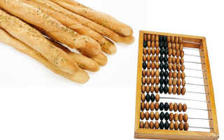 Таблица хлебных единиц полная
