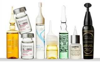 Препараты против выпадения волос для женщин