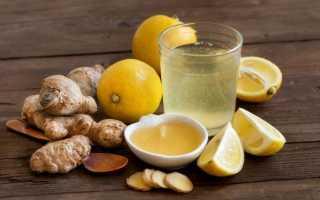 Лимон мед вода рецепт