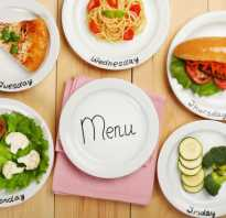 Рецепты на завтрак обед и ужин