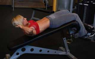 Упражнения на римском стуле
