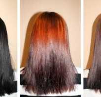 Как смыть темный цвет волос