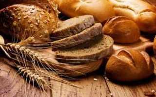 Хлебные единицы при диабете 2 типа таблица