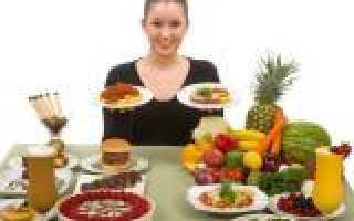 Диета для медленного снижения веса