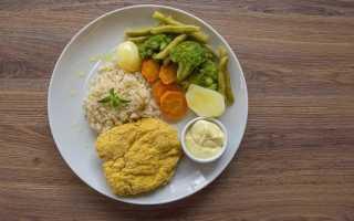 Правильное питание меню на неделю таблица
