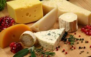 Калорийность сыров таблица полная