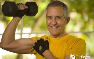 Спортивное питание после 50