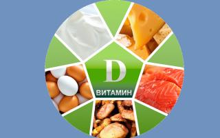Продукты где есть витамин д