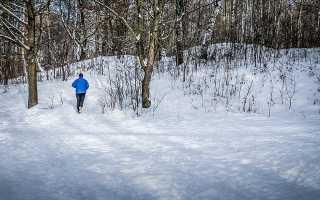 Бег зимой обувь
