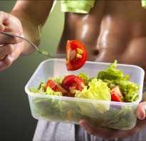 Питание спортсменов для похудения